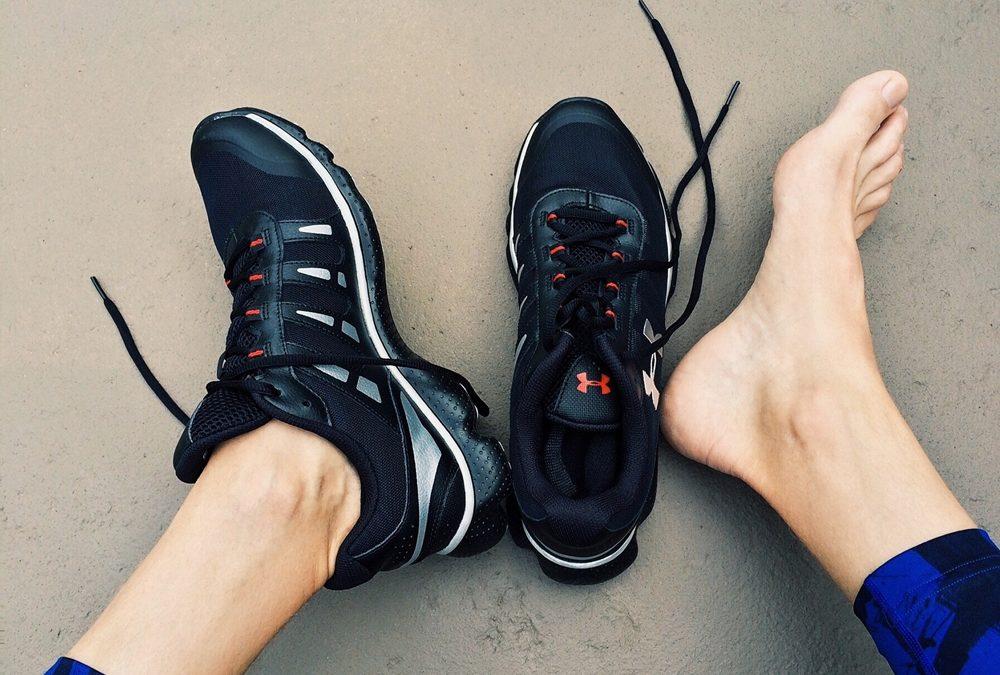 Cuidados en los pies del deportista
